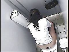Spion de toaletă Arabe fata