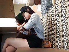 2 adolescenti drăguţ asiatice